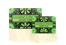 Cucumber & Freesia Garden Soap