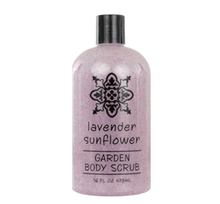 Lavender Sunflower Garden Body Scrub