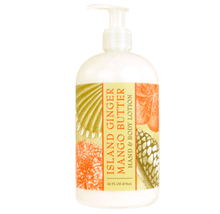 Island Ginger Mango Butter Hand & Body Lotion