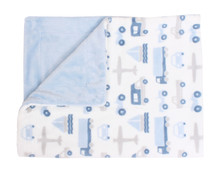 Baby Throw Blanket Things That Go