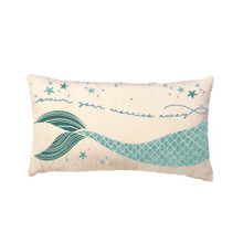 Mermaid Pillow Swim Your Worries Away