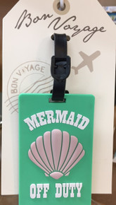 """Mermaid Off Duty"" Luggage Tag"