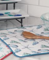 Coastal Shells Drying Mat