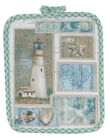 Coastal Lighthouse Potholder