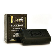 Fair & White Antibacterial Purifying & Softening Black Soap