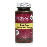 Groganics 2-A-Day Healthy Hair Vitamins DHT Blocker System