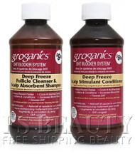 Groganics Deep Freeze Shampoo & Conditioner Combo Set