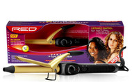 "RED 3/4"" Ceramic Curling Iron"