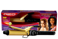 "RED 1.25"" Ceramic Curling Iron"