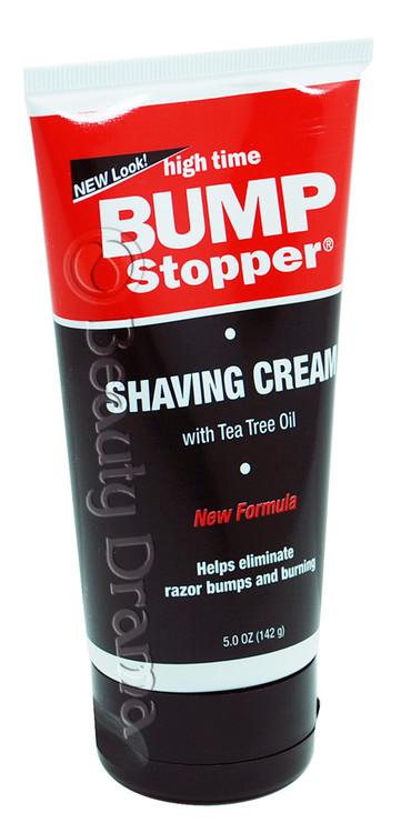 Home Skincare Bump Treatment High Time Bump Stopper Shaving Cream