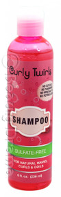 Curly Twirls Shampoo for Natural Waves, Curls & Coils