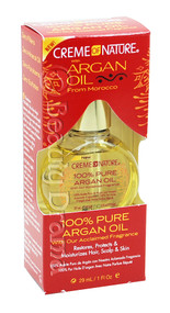 Creme of Nature 100% Pure Argan Oil From Morocco With Acclaimed Fragrance