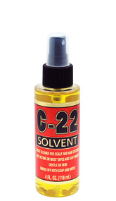 C-22 Solvent Citrus Lace Glue Remover by Walker Tape Co.
