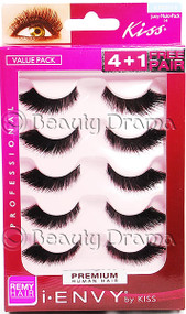 Kiss i ENVY Pro Value Pack Human Hair Eyelashes-Juicy Volume 03