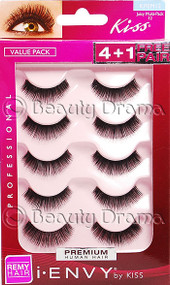 Kiss i ENVY Pro Value Pack Human Hair Eyelashes-Juicy Volume 01