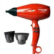 BaByliss PRO Nano Titanium Volare V2 Mid-Size Hair Blow Dryer RED