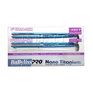 """Babyliss PRO Nano Titanium Ultra Thin 1"""" Inch Flat Iron FREE 2"""" Ultra Thin Flat Iron"""