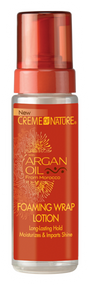 Creme of Nature Argan Oil from Morocco Foam Wrap Lotion