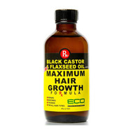 ECO Style Black Castor Oil & Flaxseed Oil Maximum Hair Growth Formula 2 oz