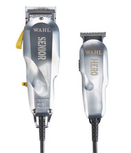 Wahl 5-Star Senior & Hero Limited Edition Premium Clipper Trimmer Combo
