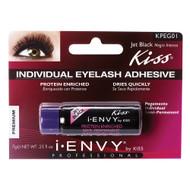 Kiss i ENVY Pro Long Lasting Individual Eyelash Adhesive Glue-Jet Black, KPEG01