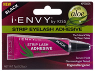 Kiss i ENVY Professional 16hr Strip Eyelash Adhesive Glue-Jet Black, KPEG02A