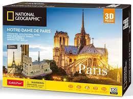 3D Puzzle Notre Dame