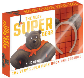 The Very Super Bear Box Set with Costume