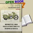 Harley-Davidson Motorcycle TM 9-879