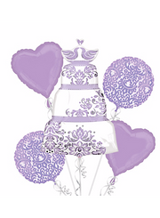 Lilac Bridal Shower Balloon Bouquet