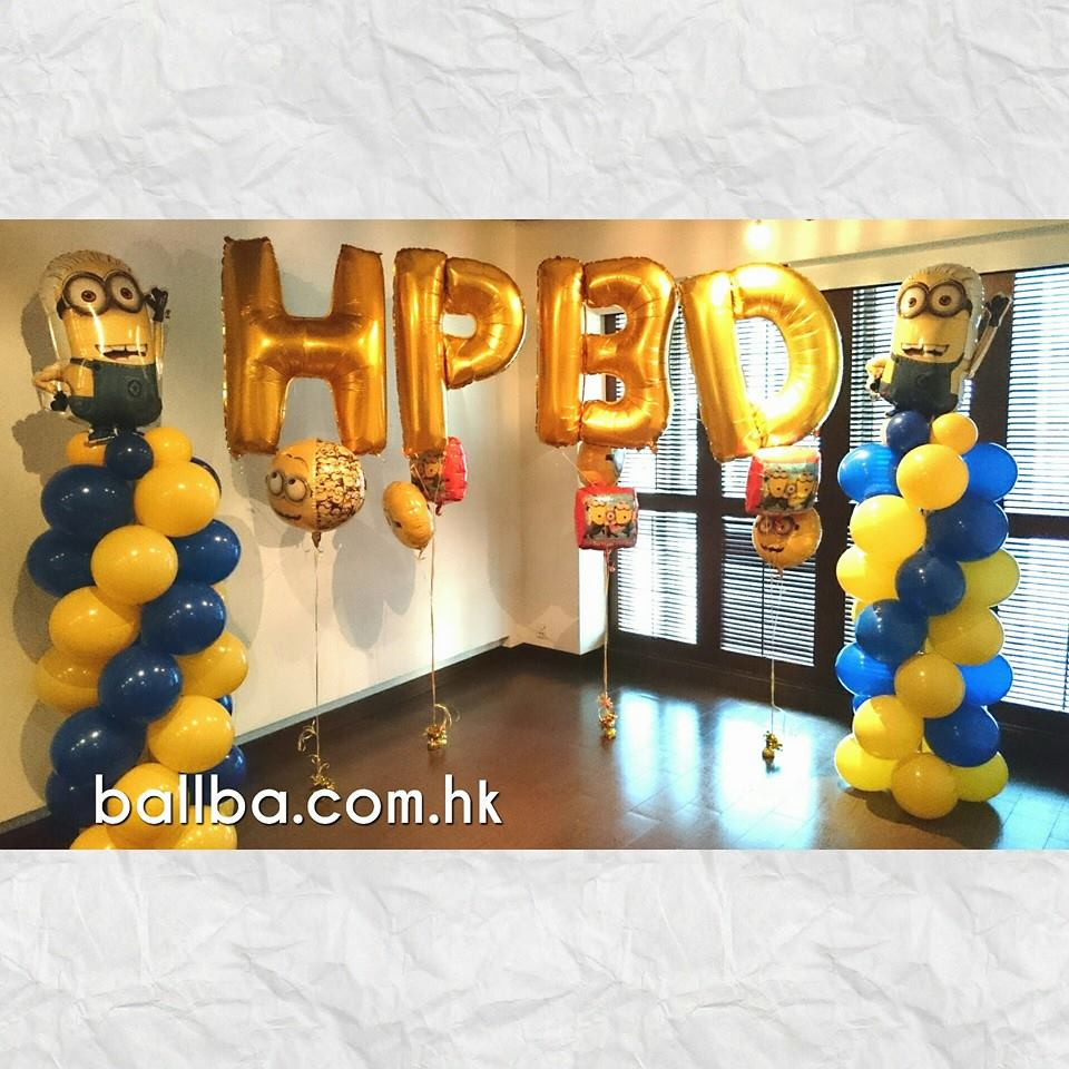 Minions Birthday Decorations Table Sheung Wan