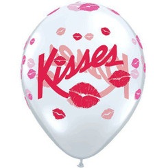 "11"" Kisses Transparent Latex"