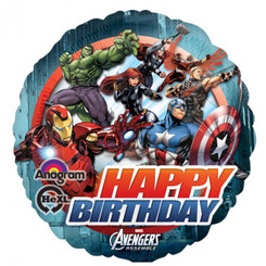 "18"" Avengers Animated Birthday"