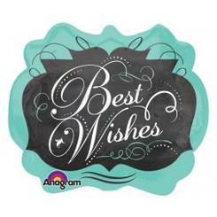 """25"""" Chalkboard Best Wishes"""