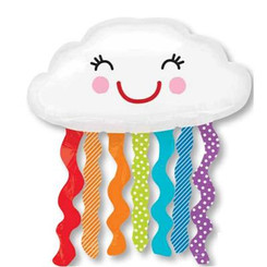 "30"" Rainbow Cloud Super Shape"