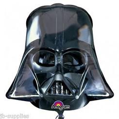 """25"""" Darth Vader Helmet Black"""