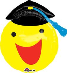 """20"""" Happy Smiley Face Grad"""
