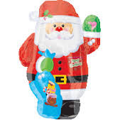 "21"" Junior Shape Santa"