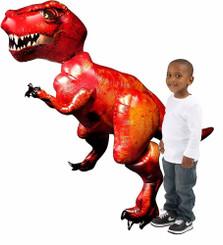 """68"""" Tyrannosaurus Rex Airwalker Balloon DINO"""