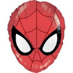"""20"""" Spiderman Face Balloon"""