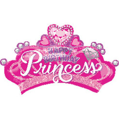 "32"" Princess Crown & Gem"