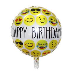 "18"" Happy Birthday Smiley"