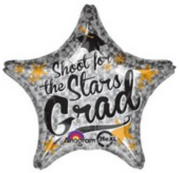 "18"" Shoot for the Stars Grad"