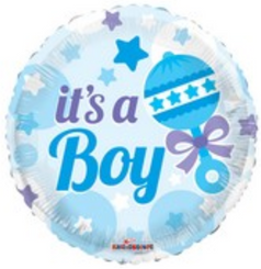 "18"" Baby Rattle Boy"