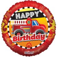 "18"" Birthday Fire Truck"