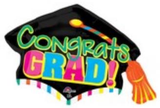 """31"""" Jumbo Congrats Grad Cap"""