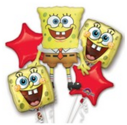 SpongeBob Bouquet (Set of 5)