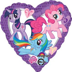 "18"" My Little Pony Heart"
