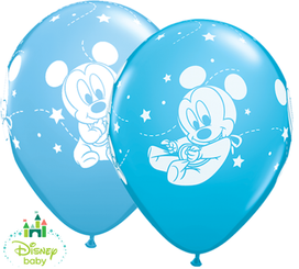 "12"" Mickey baby latex balloons"