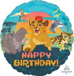 "18"" Lion Guard Happy Birthday"